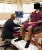Studie: Blutfluss gemessen