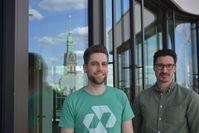 """Das Nect-Gründerteam: Benny Bennet Jürgens (l.) und Carlo Ulbrich / Bild: """"obs/Nect GmbH"""""""
