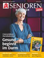 """Titelcover Senioren Ratgeber, Ausgabe 1/2021.  Bild: """"obs/Wort & Bild Verlag - Gesundheitsmeldungen/W&B"""""""