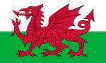 Flagge von Wales