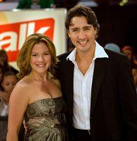 Trudeau mit Ehefrau Sophie Grégoire beim Toronto International Film Festival 2008