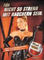 Tabakwerbung bzw. Zigarettenwerbung (Symbolbild)