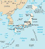 Karte von Japan Bild: de.wikipedia.org