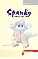 """Cover """"Spanky – der kleine blaue Troll"""" von Silke Singh"""