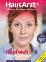 """Titelbild HausArzt 3/2018. Bild: """"obs/Wort & Bild Verlag - HausArzt - PatientenMagazin"""""""