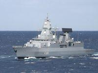 Fregatte HAMBURG F220 der neuen Fregatten Klasse 124 Bild:     Matthias Dörendahl