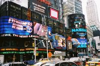 Lichtreklamen am Times Square