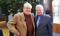 Jean-Marie Le Pen und Udo Voigt