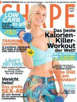 "Shape Cover 10/2017. Bild: ""obs/Bauer Media Group, Shape"""