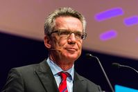 Thomas de Maizière Bild: NEXT Berlin - Image by Dan Taylor/Heisenberg Media - www.heisenbergmedia.com/, on Flickr CC BY-SA 2.0