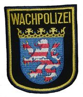 Ärmelabzeichen/Hoheitszeichen der Hessischen Wachpolizei seit 2009