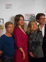 Caroline Peters (2. v. l.) beim Festival Großes Fernsehen 2013