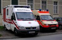 Rettungswagen und Notfallkrankenwagen