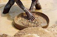 Diamantenschürfen in Sierra Leone. Bild: de.wikipedia.org