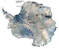 Südpol-Route Bild: ZDF und Scott Gilmour