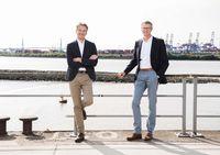 Die Geschäftsführer der Hanseatic Bank, Michel Billon (li.) und Detlef Zell Bild: Hanseatic Bank Fotograf: Hanseatic Bank