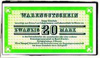 Konsumgutschein der DDR (Symbolbild)