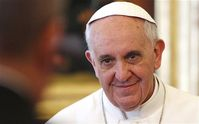Papst Franziskus I Bild: PC........... - blu-news.org, on Flickr CC BY-SA 2.0