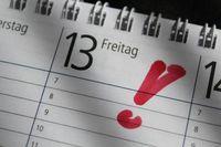 """Freitag, der 13. ist zumindest schadenstatistisch gesehen kein Unglückstag. Bild: """"obs/Zurich Gruppe Deutschland"""""""