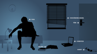 Überwachung: Ist immer dann nötig, wenn eine Seite paranoide Angst davor hat, die Kontroll über andere zu verlieren (Symbolbild)