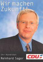 Reinhard Sager, Archivbild