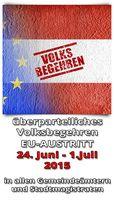 Bild: EU-Austritts-Volksbegehren