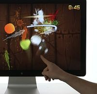 Fruit Ninja: LEAP soll Computerinteraktion revolutionieren. Bild: LEAP
