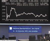 Frankfurter Börse (DAX) (Symbolbild)