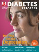 "Titelbild Diabetes Ratgeber 10/2018. Bild: ""obs/Wort & Bild Verlag - Diabetes Ratgeber"""