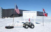 """""""Yeti"""" am Südpol: Roboter findet Gletscher-Gefahren. Bild: James Lever, CRREL"""