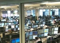 One of BNP Paribas' London Trading Floors.