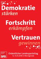 Einladung zum Landesparteitag in Wernigerode