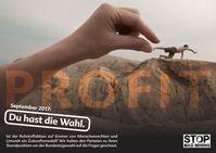 """Menschenwürde oder Profit? Vier entwicklungspolitische Organisationen haben die Parteien gefragt, worauf sie nach der Bundestagswahl ihren Schwerpunkt legen wollen. Bild: """"obs/Christliche Initiative Romero/froodmat/photocase.de"""""""
