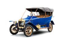 Der Laurin & Klement S, das erste Volumenmodell des Automobilherstellers aus Mladá Boleslav, debütierte am 16. April 1911  Bild: SMB Fotograf: Skoda Auto Deutschland GmbH