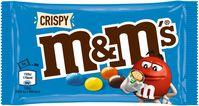 M&M'S® Crispy, 36g Einzelpackung - Beutel EAN/ GTIN: 5000159304245Mindesthaltbarkeitsdatum: 23.01.2022; 30.01.2022 / Bild: Mars Wrigley Fotograf: Mars GmbH