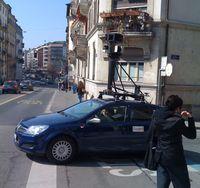 Street-View-Fahrzeug in Genf