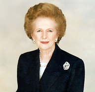 Margaret Thatcher Bild: Margaret Thatcher Foundation