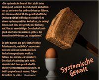 """Systemische Gewalt: Darf eine wie auch immer geartete """"Mehrheit"""" eine Minderheit Zwangsumerziehen? (Symbolbild)"""
