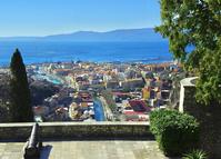 Blick auf den Hafen von Rijeka