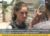 """Screenshot aus dem Youtube Video """"Syrien - Vor Ort in Tremseh, was tun die UN wirklich? """""""