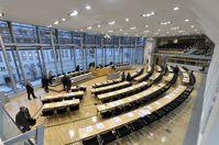 Blick in den Plenarsaal des Landtages von Sachsen-Anhalt