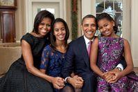 Offizielles Foto der Familie Obama (2011)