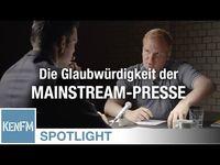 Stefan Schulz über die Glaubwürdigkeit der Mainstream-Presse