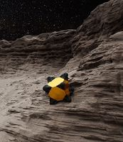 Konzept: Würfel auf fremden Welten. Bild: NASA/JPL-Caltech/Stanford