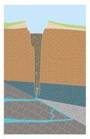 """So stellen sich die Forschenden vor, wie """"Crazy Crater"""" im Längsschnitt aussieht. Quelle: ETH Zürich / aus: Reusch et al. 2015 (idw)"""
