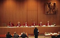 Bundesverfassungsgericht: Eine Verhandlung des Zweiten Senats, 1989 (Symbolbild)