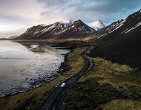 Landschaft Islands ist ein begehrtes Fotomotiv.