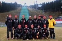 DSV-Team Skisprung Bild: DSV
