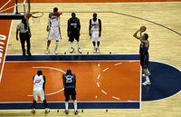 Basketball (Symbolbild)