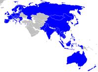 Mitglieder des ASEM (2010)
